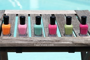 Zoya Beach Swatches