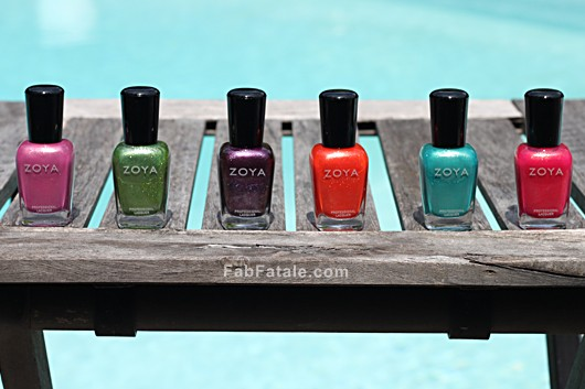 Zoya Surf Swatches