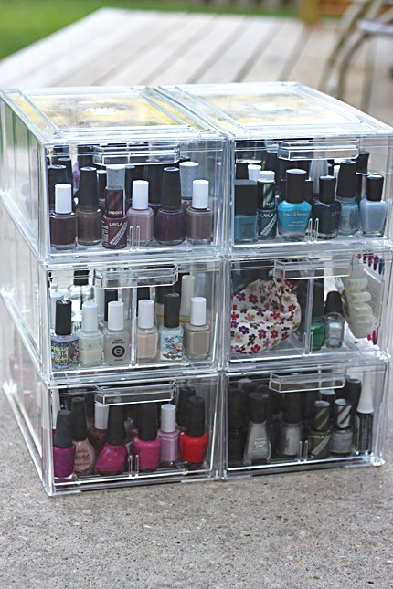 Nail Polish Storage Cubes