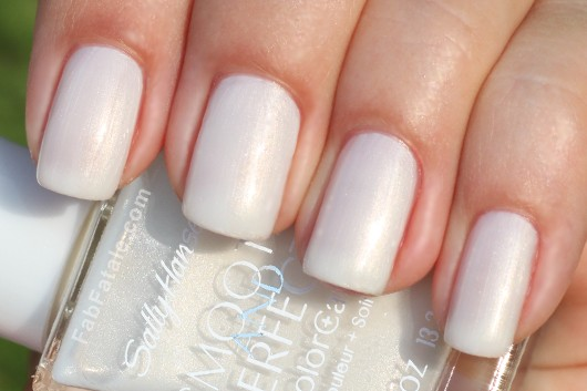 Sally Hansen Smooth and Perfect Collection - Fog Swatch