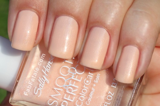 Sally Hansen Smooth and Perfect Collection - Sorbet Swatch