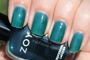 Zoya Gloss Collection - Frida Swatch