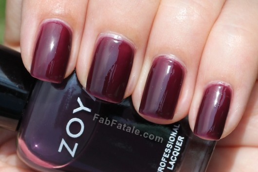 Zoya Gloss Collection - Katherine Swatch