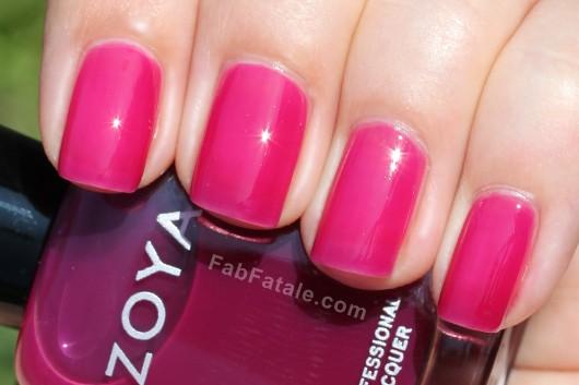 Zoya Gloss Collection - Paloma Swatch