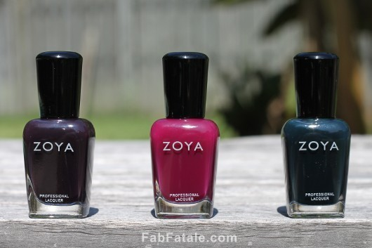 Zoya Gloss Collection Swatches