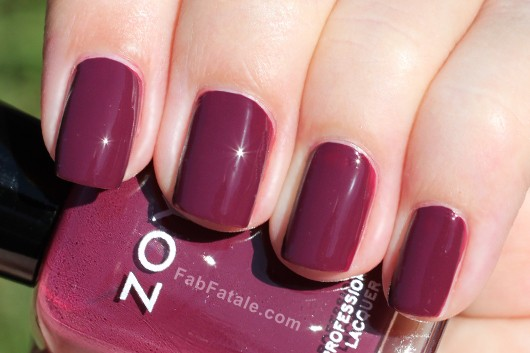 Zoya Toni Swatch - Purple Creme Nail Polish