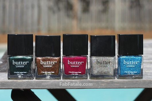 Butter London Holiday 2012 Swatches