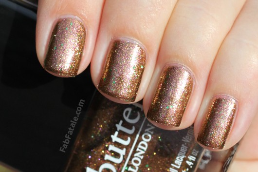 Butter London Scuppered Swatch
