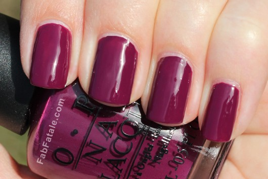 OPI Holiday 2012 Skyfall Casino Royale Swatch