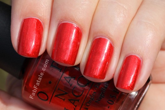 OPI Holiday 2012 Skyfall Die Another Day Swatch