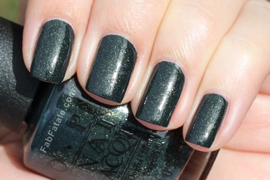 OPI Holiday 2012 Skyfall Live And Let Die Swatch