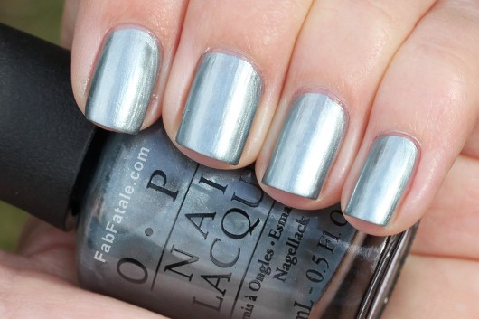 OPI Holiday 2012 Skyfall Moonraker Swatch