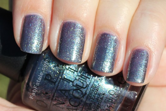 OPI Holiday 2012 Skyfall On Her Majesty's Secret Service Swatch