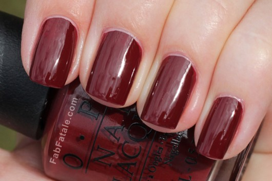 OPI Holiday 2012 Skyfall Swatch