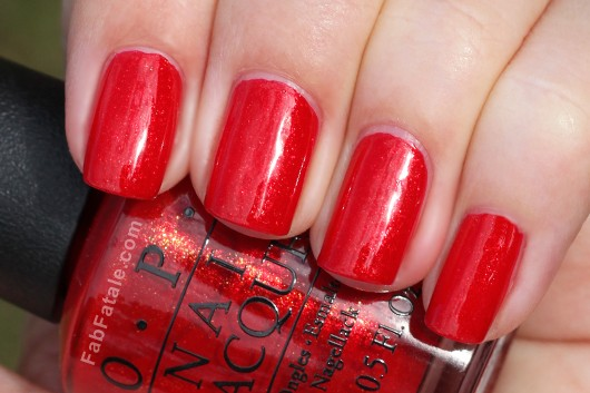 OPI Holiday 2012 The Spy Who Loved Me Skyfall Swatch