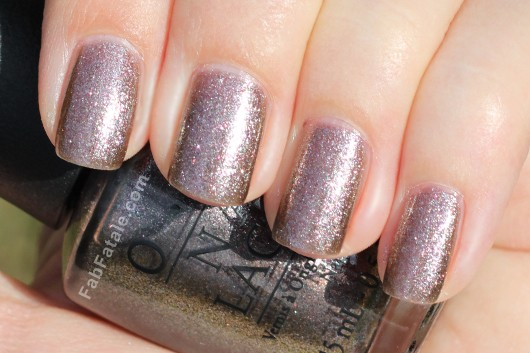 OPI Holiday 2012 Skyfall The World Is Not Enough Swatch