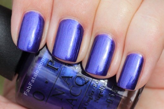 OPI Holiday 2012 Skyfall Tomorrow Never Dies Swatch