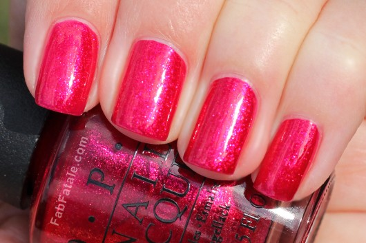 OPI Holiday 2012 Skyfall You Only Live Twice Swatch