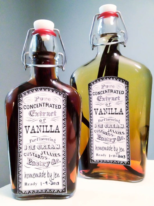 Extract Label Vanilla Extract Labels