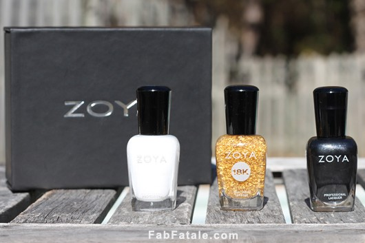 Zoya 18k Gold Gilty Pleasures Swatches