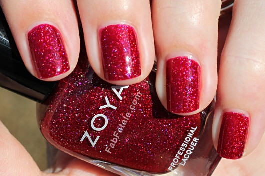 Zoya Ornate Blaze Swatch