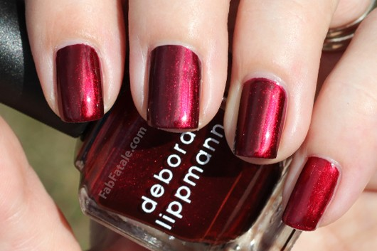 Deborah Lippmann Through The Fire Dupe Comparison
