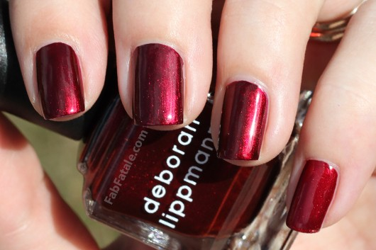 Deborah Lippmann Through The Fire Swatch