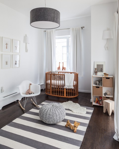 Modern Gender Neutral Nursery
