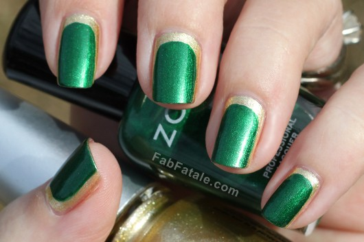 Pantone Emerald Nail Polish - Chanel Haute Couture Nail Art