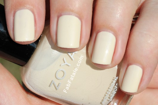 Zoya Lovely Spring 2013 Jacqueline Swatch