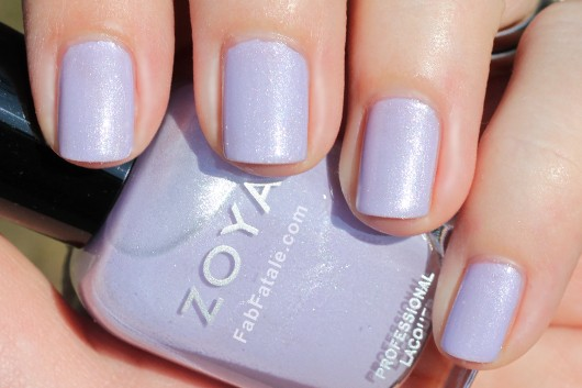 Zoya Lovely Spring 2013 Julie Swatch