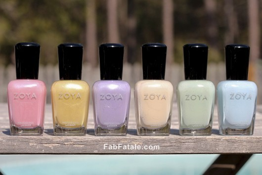 Zoya Lovely Spring 2013 Swatches