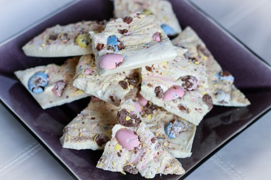 Cadbury Mini Egg Chocolate Bark
