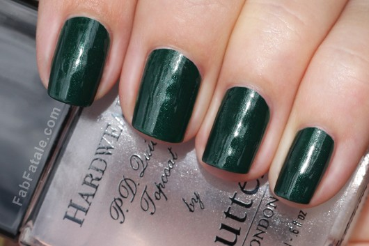 Butter London British Racing Green Hard Wear Topcoat