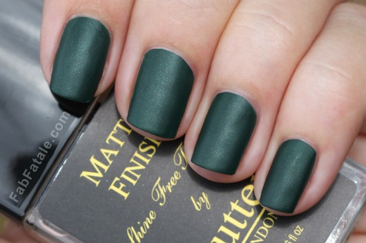 Butter London British Racing Green Matte Finish