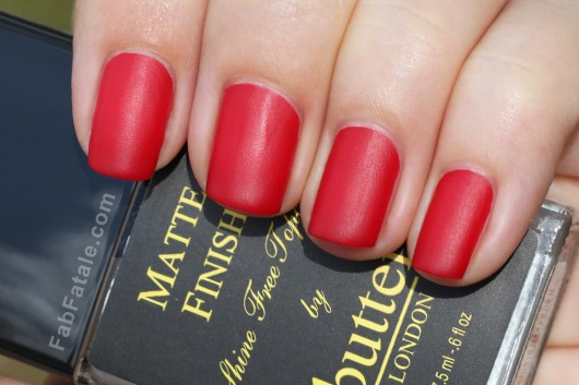 Butter London Come To Bed Red Matte Finish