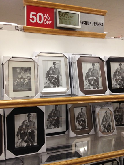 kohls carries a huge selection of fashionable frames at 50 off the grandmas are going to need one of these silver frames with a pic of baby john