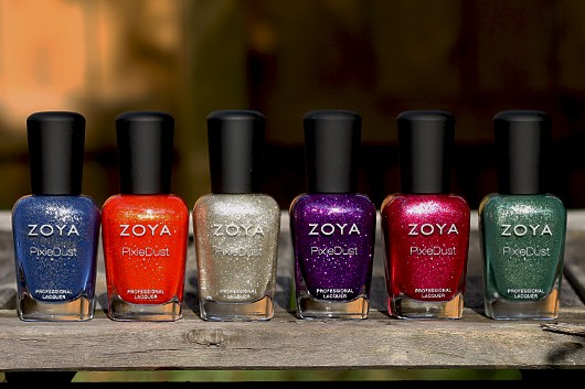 Zoya Fall 2013 PixieDust Swatches
