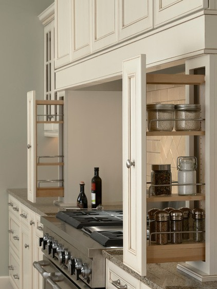 Cabinet Spice Rack Pull Out Drawer Column Leg