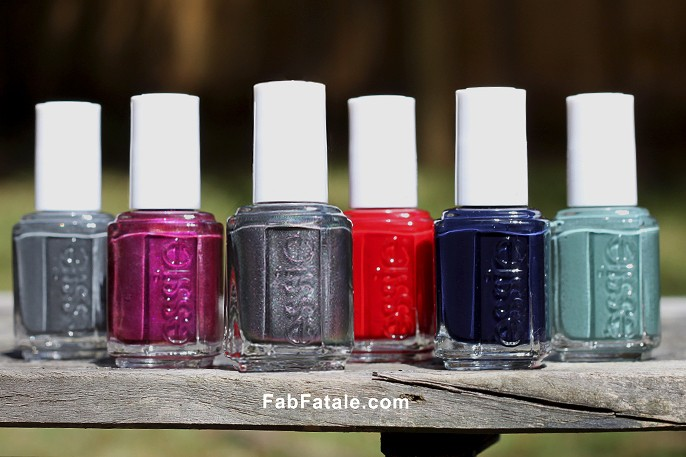 Essie Fall 2013 Swatches