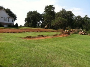 New House Broke Ground