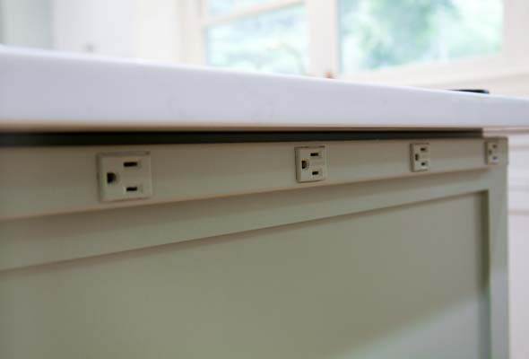 Under Counter Electrical Sockets