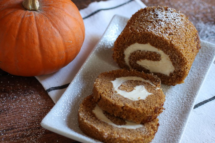 Pumpkin Cream Cheese Rollup Recipe