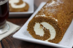 Pumpkin Cream Cheese Rollup