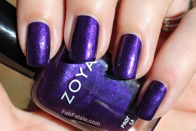 Zoya Winter 2013 Zenith Belinda Swatch