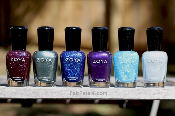 Zoya Winter 2013 Zenith Swatches