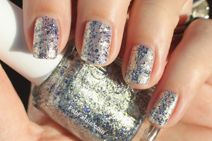 Essie Encrusted Treasures On A Silver Platter Swatch