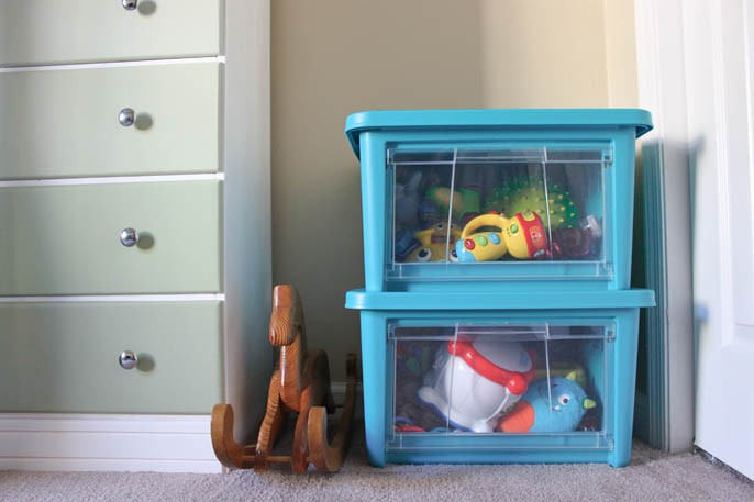Plastic Toy Storage Box