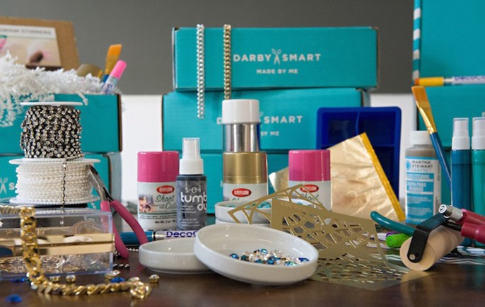 Darby Smart Monthly Mystery DIY Box