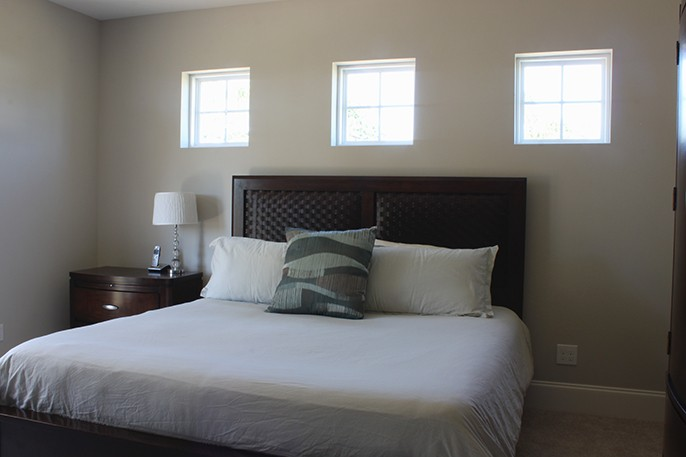 Transitional Bedroom Lake House